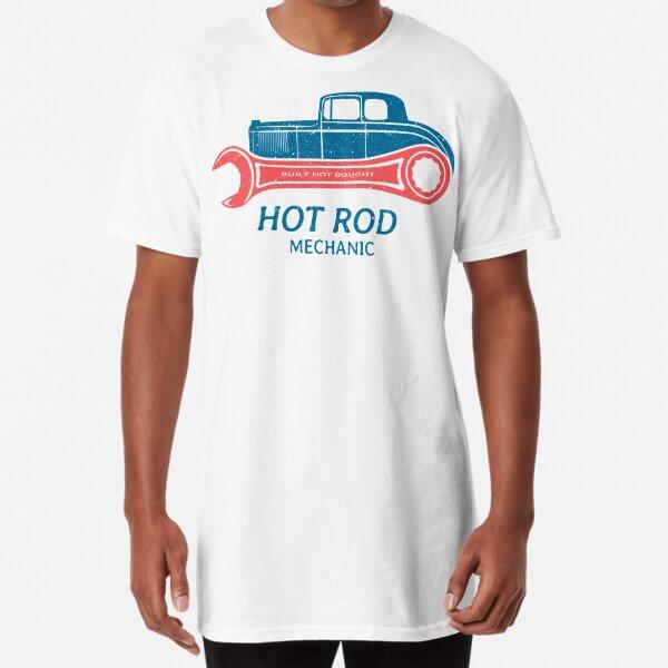 Hot Rod Mechanic Long T-Shirt