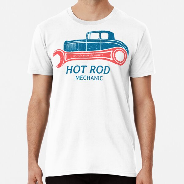 Hot Rod Mechanic Premium T-Shirt