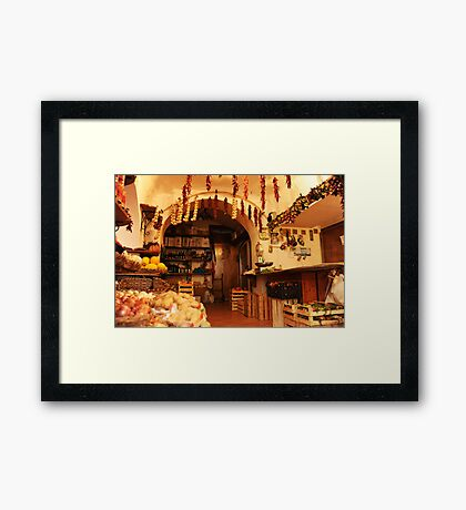 Want Something Fresh? Framed Print