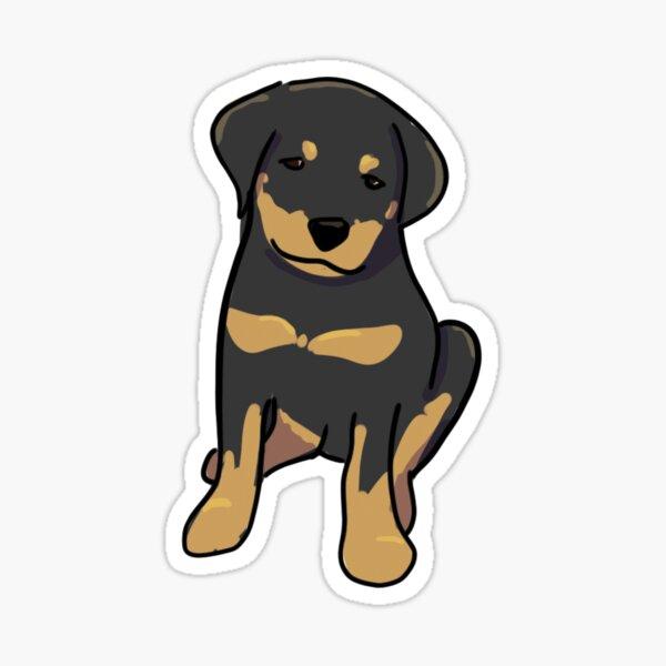 Rottweiler Sticker Sticker