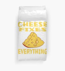 Funny Cheese T-Shirt for people who are addicted to cheese Gouda Buttercheese yellow  Bettbezug