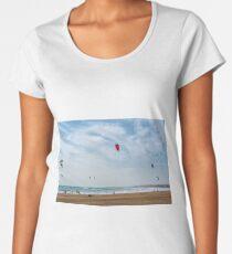Kite surfers Women's Premium T-Shirt