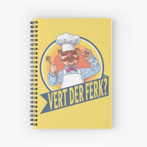 VERT DER FERK Spiral Notebook