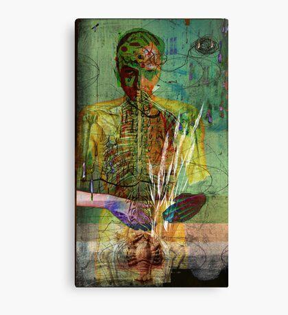 selfportrait in vanity all is vanity Canvas Print