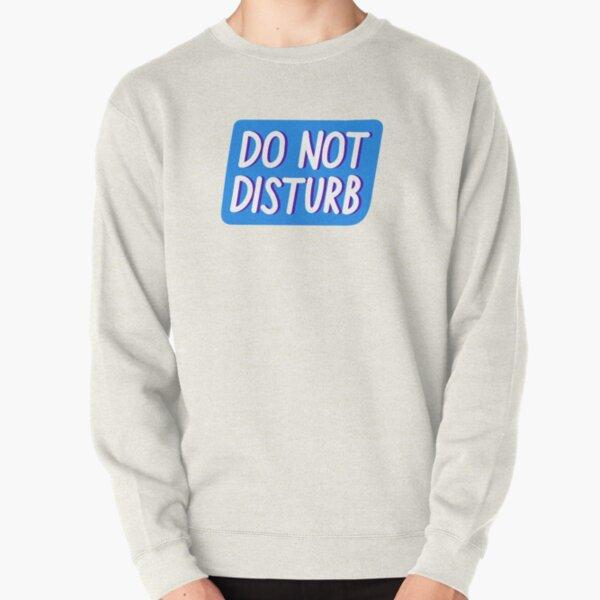 IF FOUND SLEEPING DO NOT DISTURB Mens Sweatshirt Jumper Holiday Funny Joke Gift
