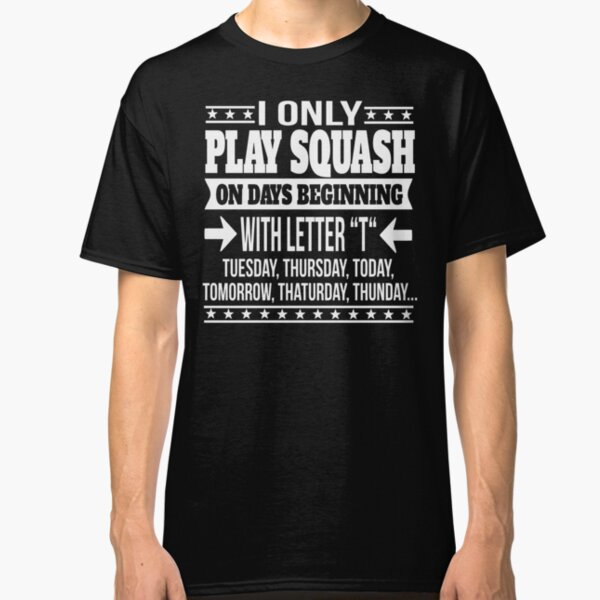 Evolution of Squash Player Personalised T-Shirt Funny Gift Ape to Man Hitting