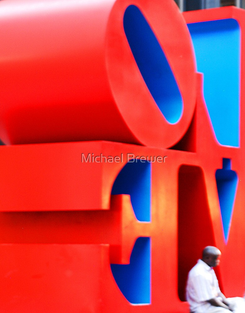 Turning a corner on love by Michael Brewer