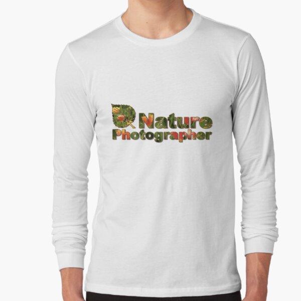 Nature Photographer T Long Sleeve T-Shirt