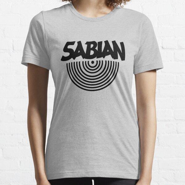 White Tee Sabian Cym Essential T-Shirt