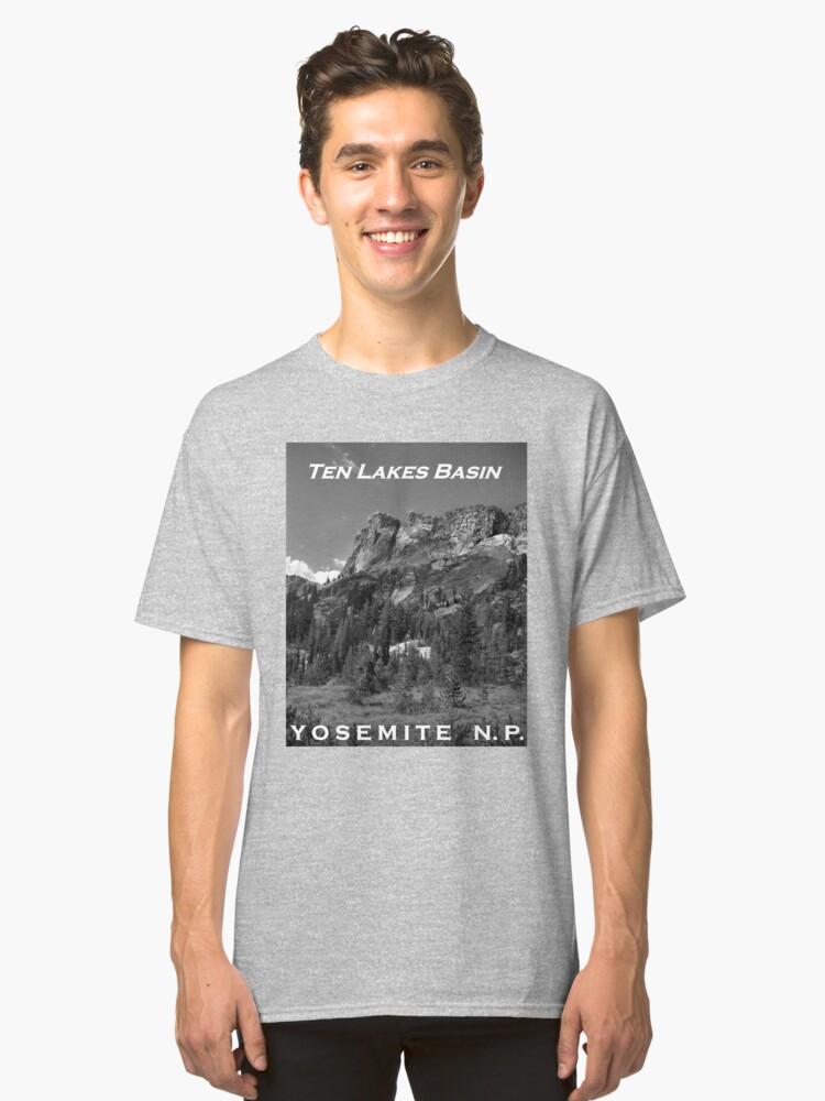 Alternate view of Ten Lakes Basin - Yosemite N.P. Classic T-Shirt