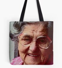 Wise older woman Tote Bag