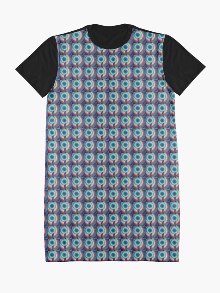 Alternate view of Charka Umbrella Graphic T-Shirt Dress