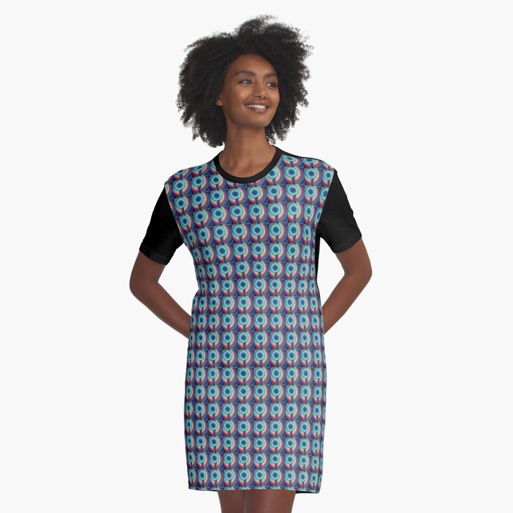 Charka Umbrella Graphic T-Shirt Dress