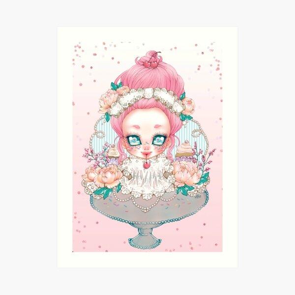 Confectionarium : Cupcake Art Print