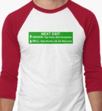 Next Exit Men's Baseball ¾ T-Shirt