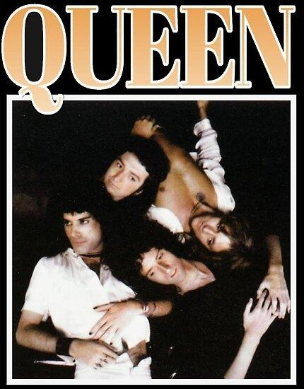 90er Jahre Vintage Queen von creehowlett