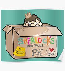 Sherlock's Mind Palace Poster