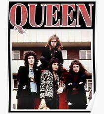 90's Vintage Queen Poster