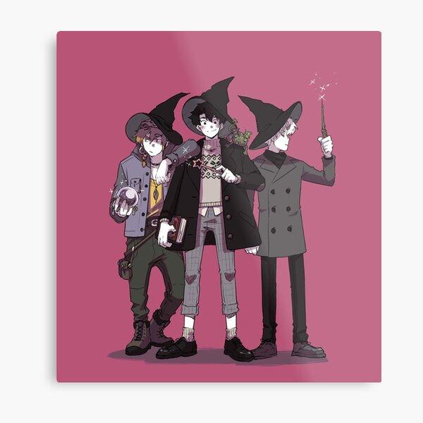 Witch Boys Metal Print