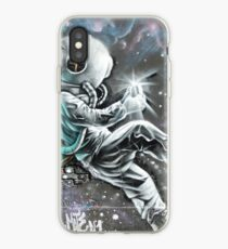 Astronaute in the Wall iPhone Case