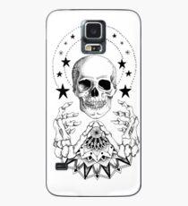 Power Skull Mandala Case/Skin for Samsung Galaxy