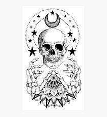 Lámina fotográfica Power Skull Mandala