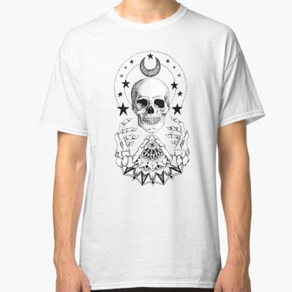 Power Skull Mandala Classic T-Shirt