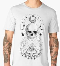 Power Skull Mandala Men's Premium T-Shirt