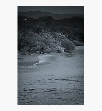Playa Blanca b/w Photographic Print