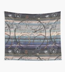 Space race ink on paper Wall Tapestry