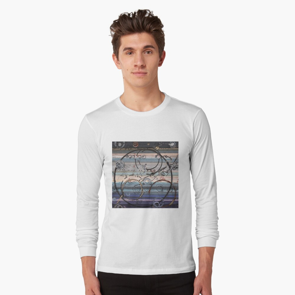 Space race ink on paper Long Sleeve T-Shirt