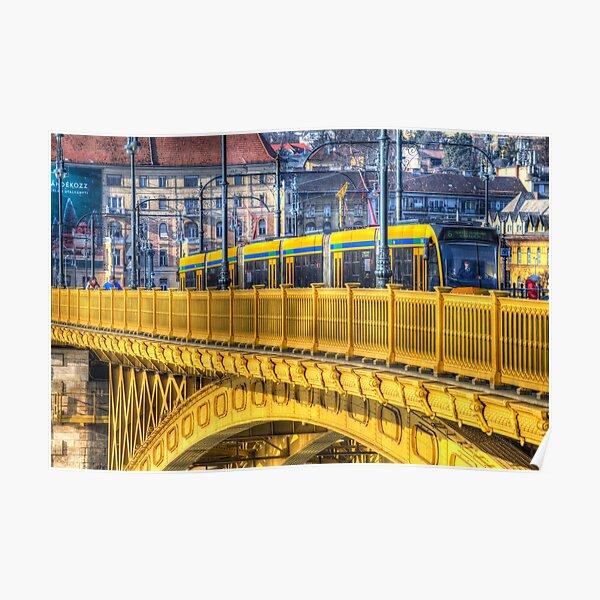 Margaret Bridge Budapest Poster