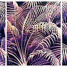 Palm Frond Triptych by Jessica Jenney
