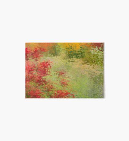 Summer Blooms Art Board Print