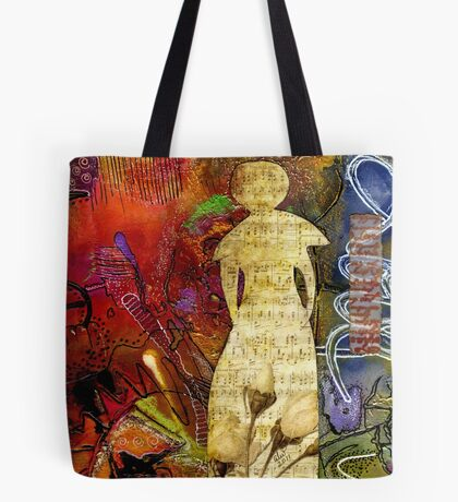 ROSEBUD The Angel of Sweet Songs Tote Bag