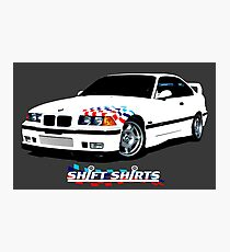 LTW - E36 Lightweight Photographic Print