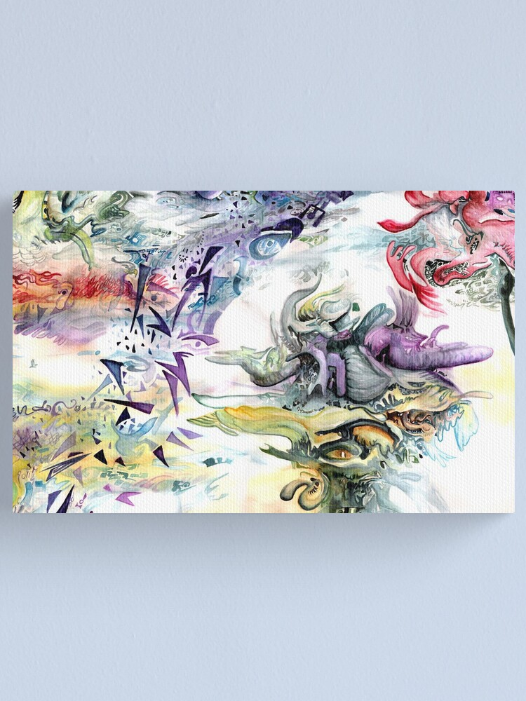 Alternate view of Once Current Transformation Canvas Print
