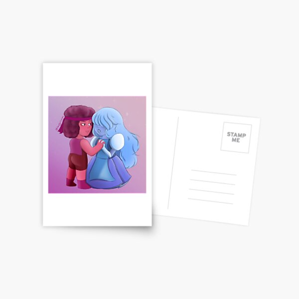 Ruby and Sapphire Postcard