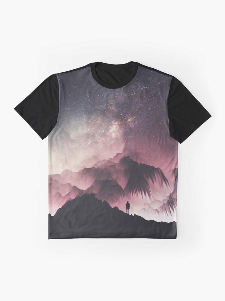 Alternate view of Night Graphic T-Shirt