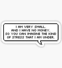 Mulaney quote Sticker
