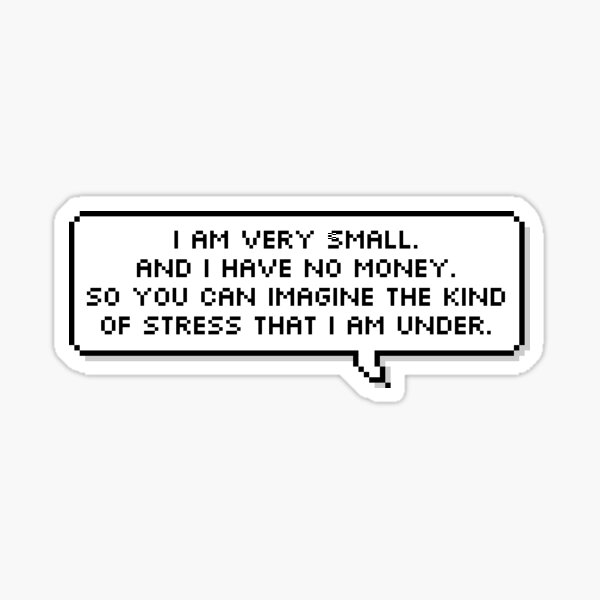 Mulaney quote Sticker