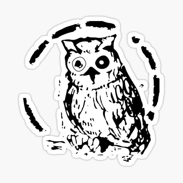 William Minerva Sticker