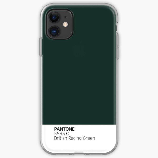 PANTONE 5535c British Racing Green Funda blanda para iPhone