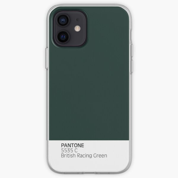 PANTONE 5535c British Racing Green Funda blanda para iPhone