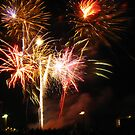 Fireworks Over Minneapolis by shutterbug2010