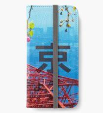 Tokio - Katakana / Hiragana iPhone Flip-Case/Hülle/Klebefolie