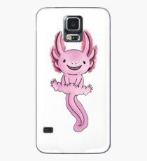 Happy Axolotl- Version 1 Case/Skin for Samsung Galaxy