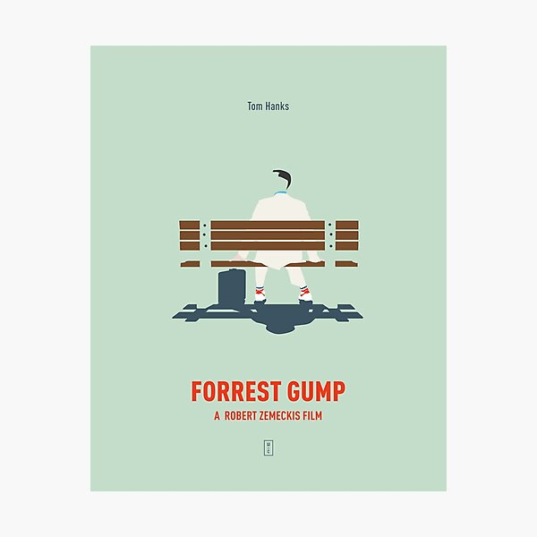 Forrest Gump Photographic Print