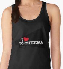I love to CHEER Women's Tank Top