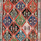 East Anatolian Antique Erzurum Bayburt Turkish Kilim by Vicky Brago-Mitchell